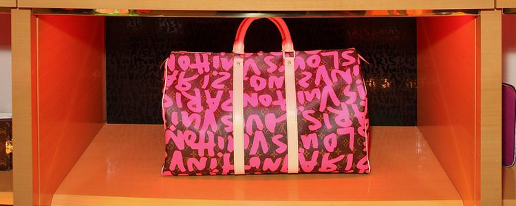 Bolso Graffiti de Louis Vuitton y Stephen Sprouse