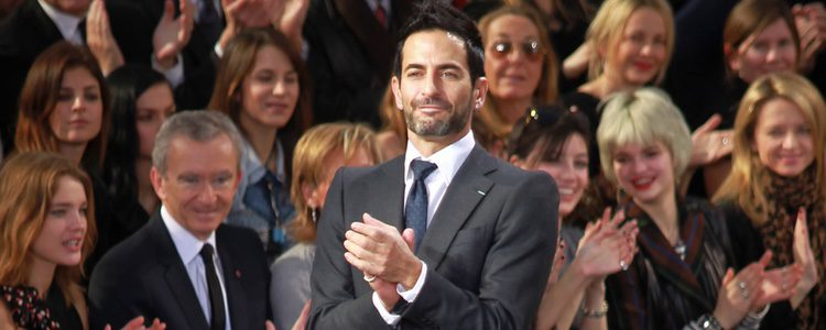 Marc Jacobs en la París Fashion Week de 2011 para Louis Vuitton