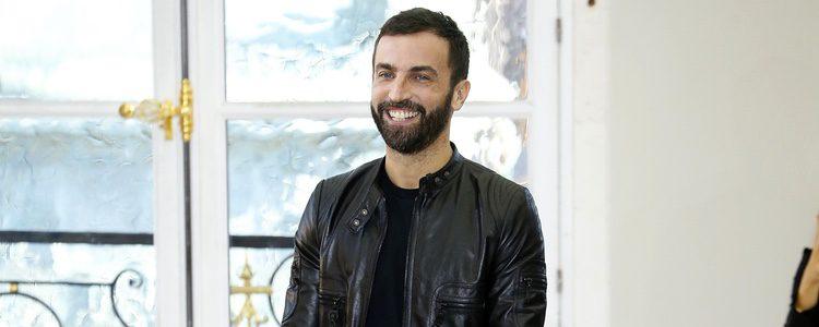 Nicolas Ghesquière en un desfile de Luis Vuitton