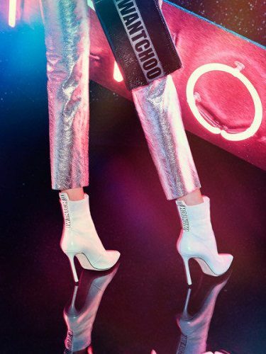 Botines calcetín blancos de la colección I Want Choo para 2017