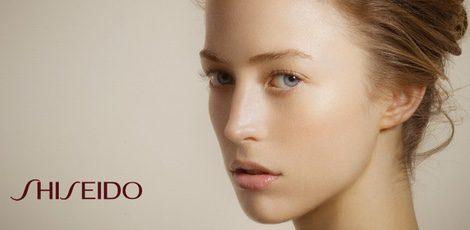 Anuncio de la marca Shiseido
