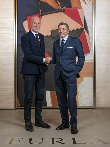 Massimo Carraro (Morellato) junto a Eraldo Poletto (ex CEO de Furla) en su colaboración de relojes