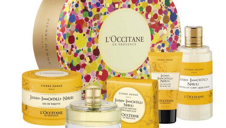 Productos de la marca L'Occitane