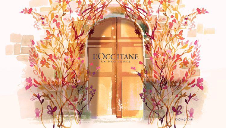 Anuncio de la marca L'Occitane