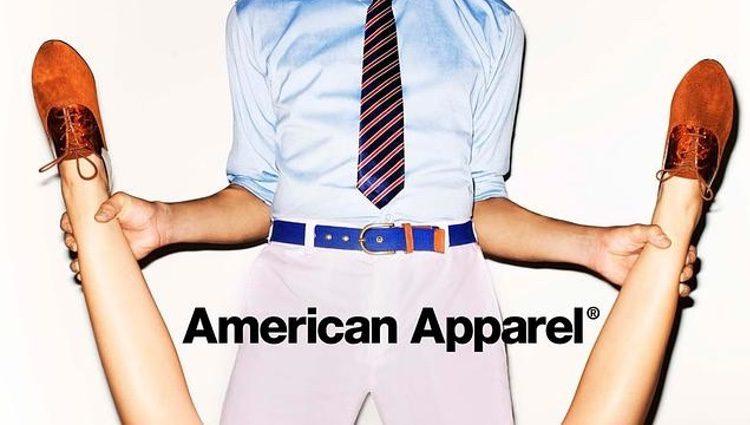 Anuncio de American Apparel