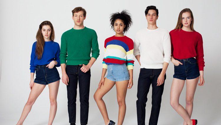 Modelos de American Apparel