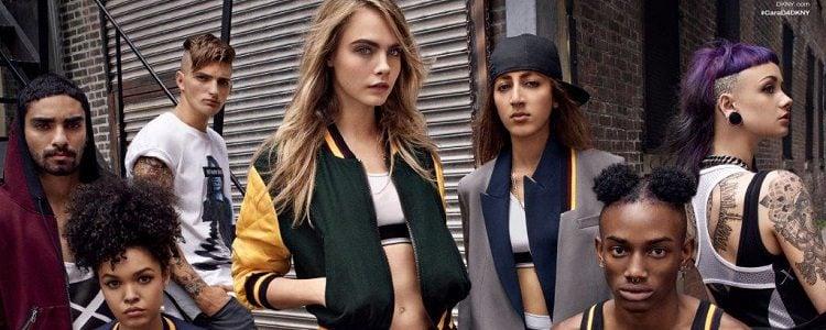 Cara Delevingne diseña una colección para DKNY