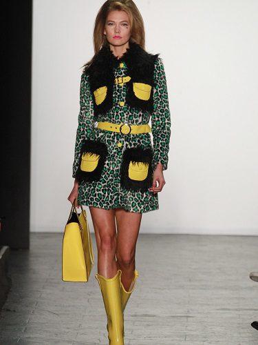 Karlie Kloss apareció en su desfile durante la Fashion Week de Nueva York para la temporada Primavera/Verano 2017