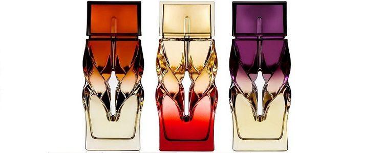 Colección de tres perfumes de Christian Louboutin