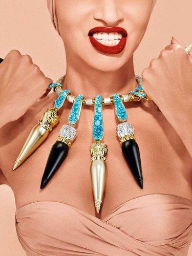 Colección de labiales. Imagen de la campaña 2016
