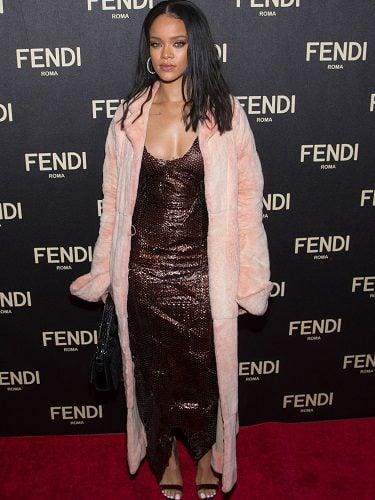 Rihanna es una seguidora de Fendi
