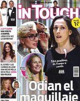Algunas famosas que dejan el maquillaje de lado en la portada de InTouch