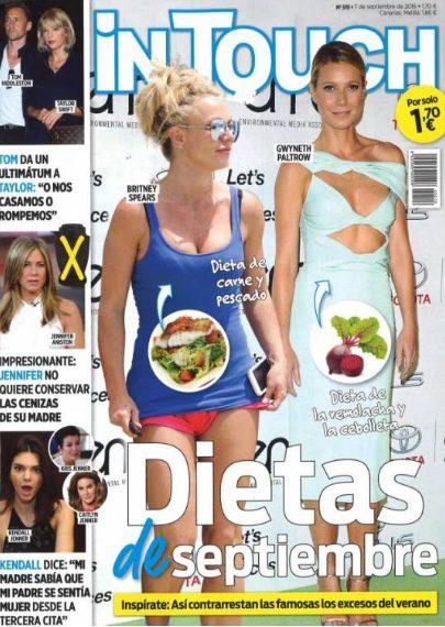 Las dietas de septiembre en portada de In Touch