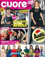 d51e3db854b El entrenamiento de Aitana Ocaña en exclusiva en revista Cuore