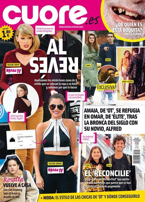 dbdec9b704f Las celebrities dan la vuelta a su ropa y crean tendencia en revista Cuore