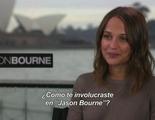 Entrevista exclusiva con Alicia Vikander por 'Jason Bourne'