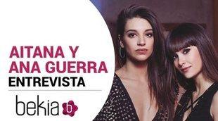 Aitana y Ana Guerra (Aitana War): 'Pasarán 10 años y seguiremos quedando para cantar 'Lo malo'